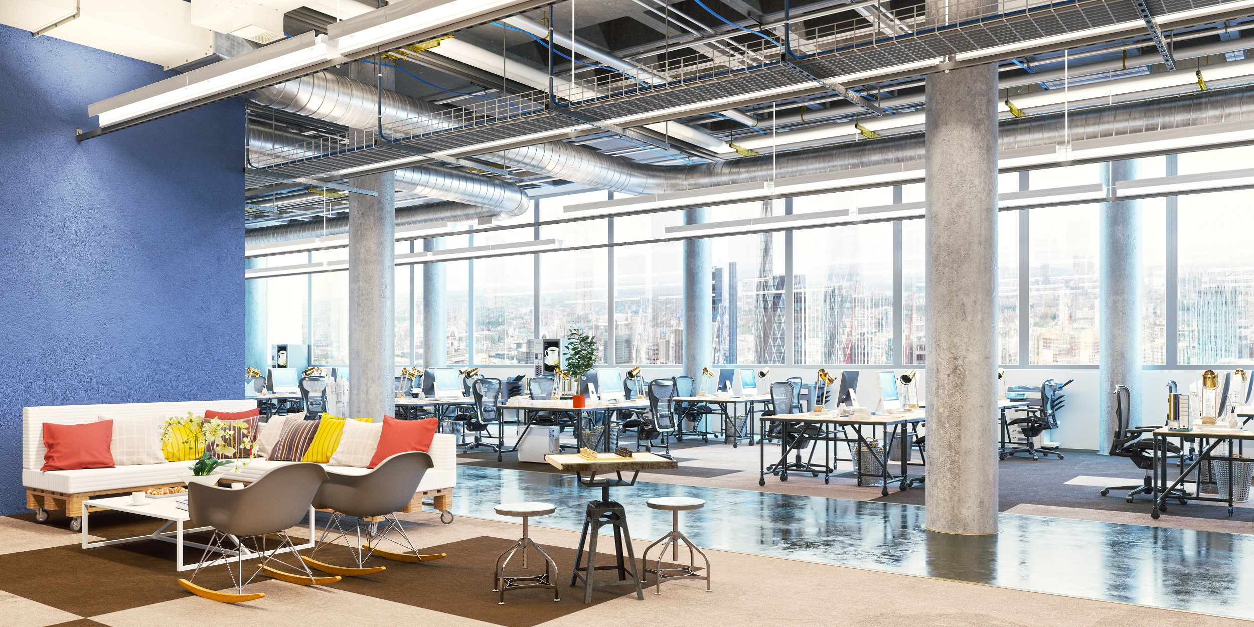 If You Guessed That They All Incorporate Open Office Space Into Their  Design, Youu0027d Be Correct. Open Office Layouts Continue To Gain Popularity  As Many ...