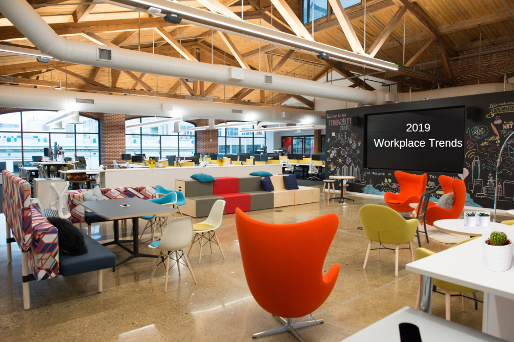 2019 San Francisco workplace office design trends