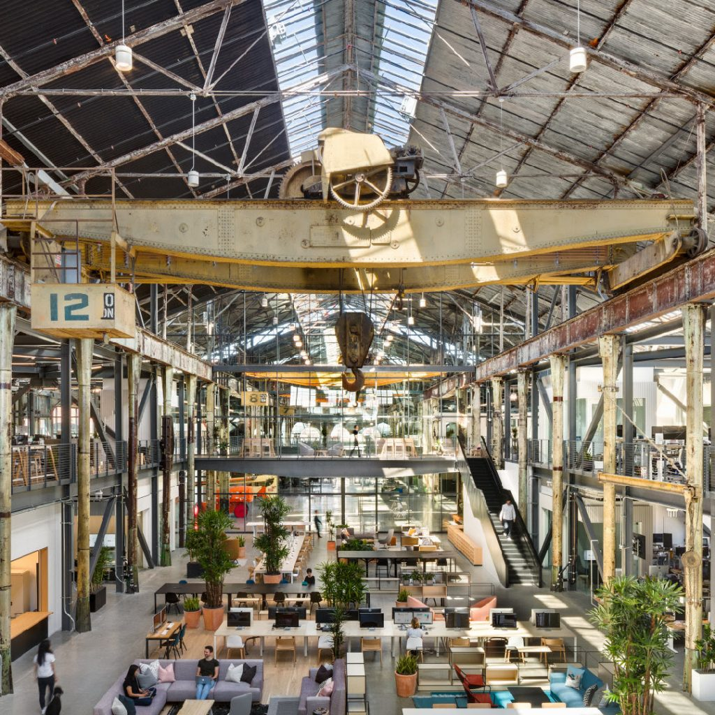 Retrofitting old warehouses for modern office workspaces trending for 2019 and beyond.