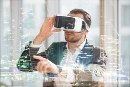 VR virtual reality and AR augmented reality